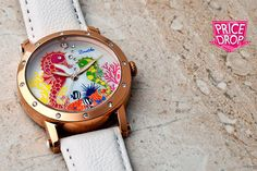 instead of (from Bertha Watches) for a Bertha 'Morgan' watch with unique tropical seahorse design - choose from four fab colours and save Colours, Watches, Unisex, Luxury, Wristwatches, Clocks