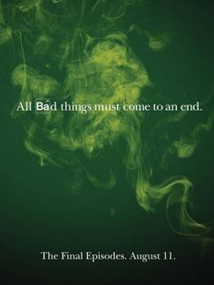 Breaking Bad Poster Reminds Us It's Almost Over -- Vulture