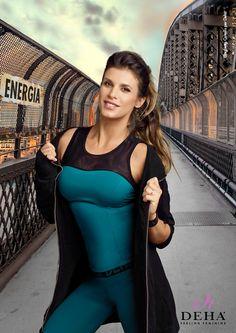 Elisabetta Canalis for Deha #FeelingFeminine #FeelingDeha #energia #energy