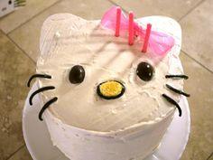 Hello Kitty Cake (next order Katie has to fill)