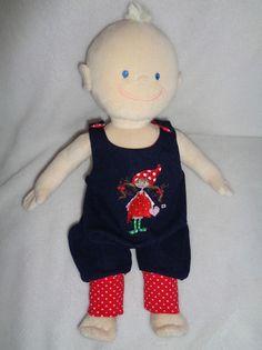 Puppenbekleidung für Baby Born 43 cm 3-teilig Set Krümel Pinguin