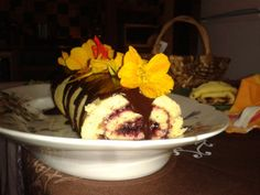 Dessert at one of our B&Bs