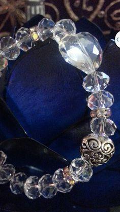 My Love is Crystal Clear Bracelet