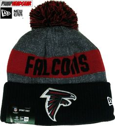 df8965158 ... top quality atlanta falcons new era nfl sideline sport knit bobble hat  92721 08327