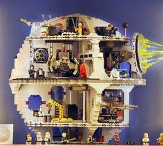 The Lego Deathstar!