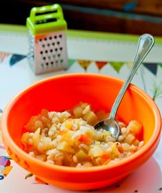 Supa de orez si dovlecel