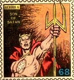 Marvel Value Stamp - Son of Satan