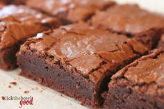 Lick The Bowl Good: The Perfect Brownie