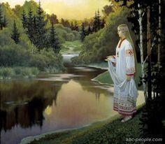 Богиня Кострома. Борис Ольшанский
