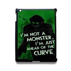 Joker Quotes TATUM-5941 Apple Phonecase Cover For Ipad 2/3/4, Ipad Mini 2/3/4, Ipad Air, Ipad Air 2