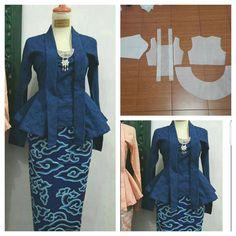 The popular kutu baru tops pattern.  Order by click our link/line : modelliste  #modellistepattern#k - modellistepattern
