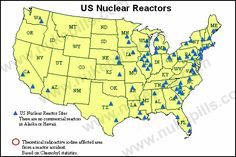 Nuclear Reactors in the U.S.A. notice the ones in New Jersey where hurricane Sandy hit.