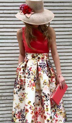 Resultado de imagen de falda larga estampada boda Faldas Para Bodas 550851182c07