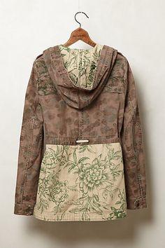 Floral Fatigue Jacket