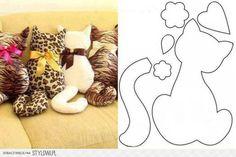 Kedi Yastık Şablonu