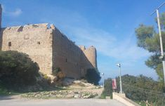 The Area Of Kritinia Castle In Rhodes Offers Tranquility, History And Picture Postcard Views That Will Take Your Breath Away! Picture Postcards, Beautiful Scenery, Rhodes, Mount Rushmore, The North Face, Castle, Mountains, History, Pictures