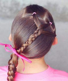 idée coiffure facile petite fille