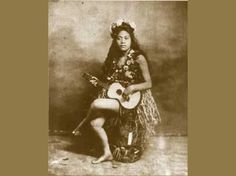 """Photo: This is Emalia Kaihumua, who wrote the mele """"He Aloha Moku O Keawe"""". She is the Emalia referred to in the mele """"Hilo One"""", when they talk about Sweet Emalia o koaloha ia. She moved from Hawai`i to California and missed her Big Island home so very much. That's when she wrote """"He Aloha Moku o Keawe"""". She did end up back in the islands but suffered from mental illness at a time when they just locked you away. She died in a mental asylum on O`ahu. She was a hula dancer in Kalakaua's…"""