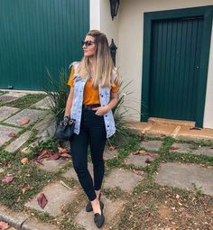 New how to wear jeans outfits style Ideas Basic Outfits, Casual Outfits, Cute Outfits, Fashion Outfits, Women's Fashion, Looks Jeans, Mode Inspiration, Latest Fashion For Women, Casual Looks
