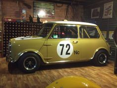 Mini Cooper S, Mini Cooper Classic, Cooper Car, Classic Mini, Classic Cars, Mini Cafe, Cafe Racing, Mini Clubman, Mini S