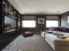 Designers are colluding with audio-visual specialists to produce alluring remakes of the old-school home screening room: opulent, light-infused spaces loaded with hidden high-spec kit. Katrina Burroughs reports