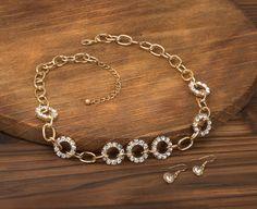 Precious Links Jewelry Set
