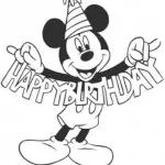 Mickey Mouse coloring pages - Free printable coloring pages
