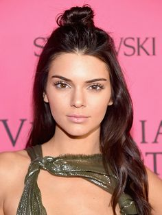 The Best Celebrity Hair-Color Inspiration for Winter: Kendall Jenner's rich espresso | allure.com