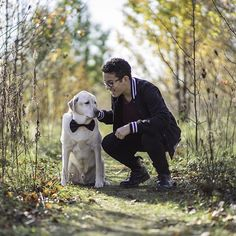My nephew Adriel and his dog, Max.  Adriel was in the first grade when Max joined the family, Adriel will be a senior next year in high school.  This picture is why I love photography. #labsofinstagram #yellowlab #nephew #boyandhisdog #lifetogether #november #fall #rokinon #85mmf14 #rokinoncontest