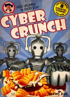 Doctor Who breakfast cereals Sci Fi, Geek Stuff, Fictional Characters, Dr Who, Tardis, Crunch Cereal, Minion, Torchwood, Balanced Breakfast