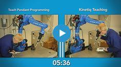 Video - Kinetiq Teaching vs Teach Pendant Programming Robotics, Programming, Teaching, Pendant, Pendants, Learning, Education, Computer Programming, Coding