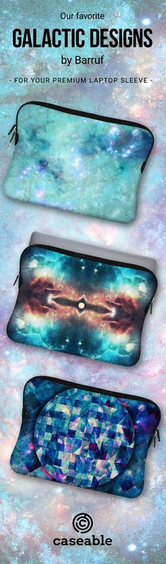 Galactic Designs by @barruf for your caseable Premium Laptop Sleeve!