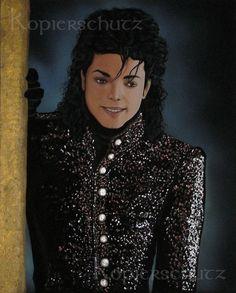 1001 Night - Michael Jackson, orig. Acryl Bild,Fine Art,Gemälde,Painting,Unikat