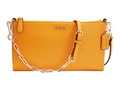 COACH Saffiano Leather Kylie Crossbody