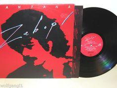 SANTANA - Zebop! *CBS 84946 NL 81* LP MINT-