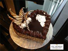 Dark chocolate cointreau #cake