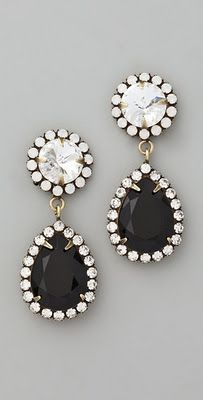 classic, bold earrings