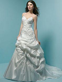 Beautiful Thin Strap Evening Dress   Wedding Dresses