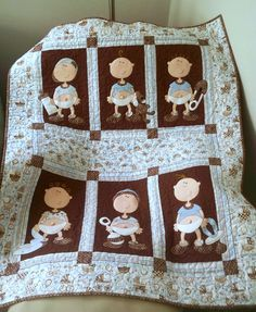 Baby Boy Quilt (from Quilts Sew Shabby)