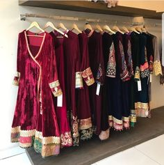 Velvet dresses go very well in winters. Presenting different ways to incorporate velvet for parties and special occasion. Check newest collection of party dr. Pakistani Formal Dresses, Pakistani Bridal Dresses, Wedding Dresses For Girls, Pakistani Dress Design, Indian Dresses, Velvet Pakistani Dress, Eid Dresses, Dress Wedding, Stylish Dresses For Girls