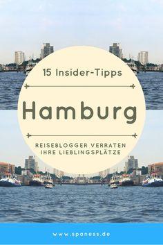 Hamburg Tipps - Reiseblogger verraten 15 Insidertipps für einen Hamburg Trip.