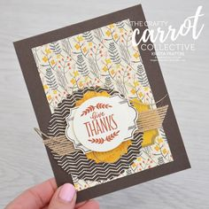 Stampin' Dolce: Exciting offer from the Crafty Carrot Collective & Blog Hop! - SU - Labels to Love