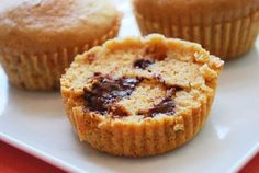 peanut butter chocolate chip muffins, but with honey instead of sugar. Could be gf if sub ww flour with oat flour