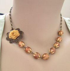 DIY bridesmaid necklace idea?