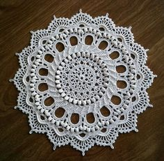 Doily by crochet designer, Patricia Kristofferson. Love her patterns. Wonderful doilies 1277 published in 1999