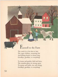 farm illustrated by Alice and Martin Provensen, 1951