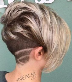 60 Short Shag Hairstyles That You Simply Can't Miss - Pixie Bob With Nape Undercut - Pixie Undercut Hair, Undercut Hairstyles, Short Hair With Undercut, Undercut Bob, Shaved Hairstyles, Short Shaggy Haircuts, Short Hairstyles Fine, Pixie Haircuts, Sassy Haircuts