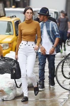 PHOTOS - Le look du jour : Kendall Jenner en mode geek chic à New York – metronews
