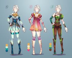 Cheap Adopt outfits CLOSED by Avionetca.deviantart.com on @DeviantArt