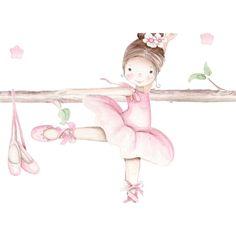 Ballerina Art, Ballet Art, Little Ballerina, Baby Girl Photos, Baby Pictures, Ballerina Birthday Parties, Baby Room Art, Tiny Dancer, Preschool Art